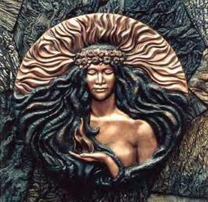 000 Goddess - BY Herb Kawainui Kane