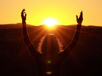 oración al sol